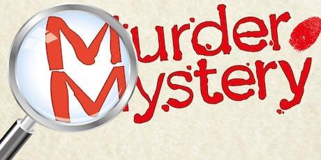 Halloween Murder  Mystery tickets