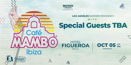 Cafe Mambo Los Angeles POOL PARTY tickets