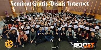 SEMINAR GRATIS STRATEGI BISNIS INTERNET