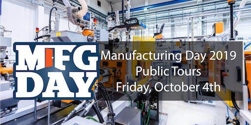 Manufacturing Day Facility Tour - Waterloo Region or Guelph/Wellington 2019