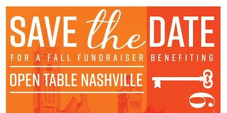 Open Table Nashville Annual Fundraiser tickets