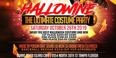 HALLOWINE PART 4 (TAMPA BIGGEST CARIBBEAN COSTUME PARTY) tickets