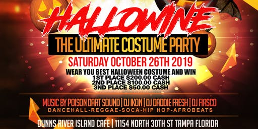 HALLOWINE PART 4 (TAMPA BIGGEST CARIBBEAN COSTUME PARTY)