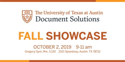 UT Document Solutions Fall Showcase 2019