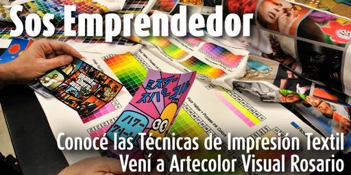 Técnicas de Impresión Textil |  Artecolorvisual - Rosario