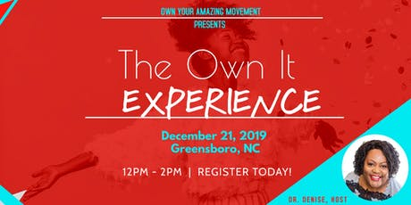 Own Your Amazing-The EXPERIENCE tickets