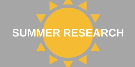 CCRF: Planning for Summer Research tickets