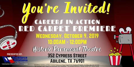 Red Carpet Premiere by Workforce Solutions of West Central Texas tickets
