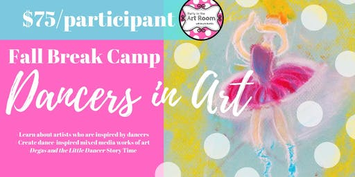 Dancers in Art: Fall Break Art Camp