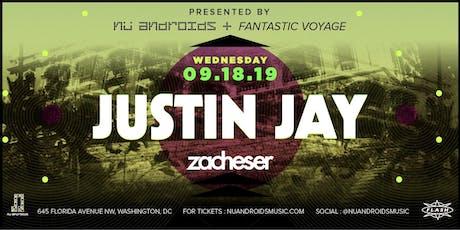 Justin Jay w/ zacheser at Flash tickets