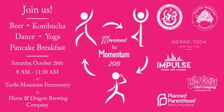 Movement for Momentum - Start at Turtle Mountain Fermentery tickets