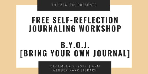 R&B Journaling / Self Reflection Workshop
