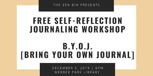 R&B Journaling / Self Reflection Workshop