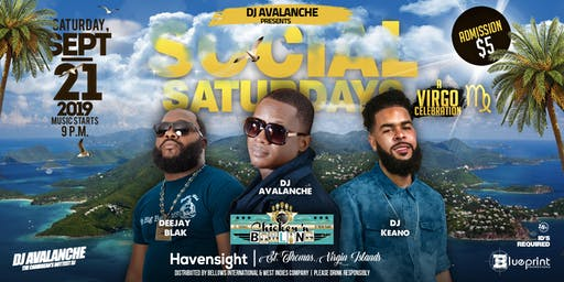 Social Saturdays I A Virgo Celebration