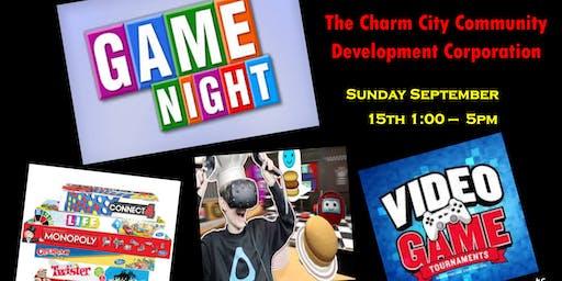 Charm City Game Night Fundraiser