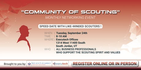 Community of Scouting Networking Group tickets