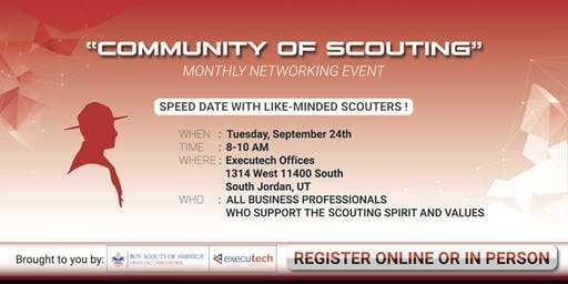 Community of Scouting Networking Group