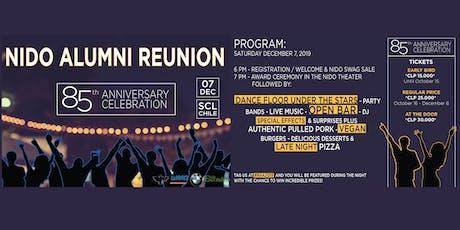2019 Nido Alumni Reunion entradas