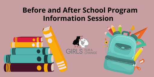 Before and After School Programs Information Session