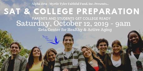 SAT & College Prep tickets