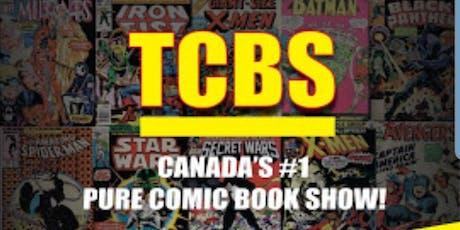 TCBS - Toronto Comic Book Expo tickets