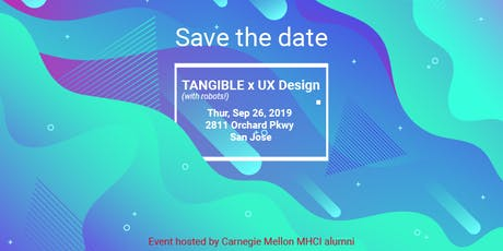 Tangible x UX Design (with robots!) tickets
