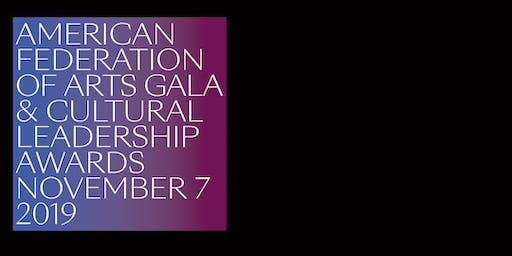 2019 AFA Gala and Cultural Leadership Awards