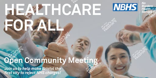 Healthcare For All - Open Community Meeting