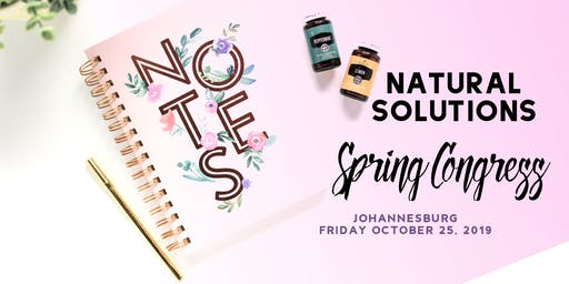 Natural Solutions Spring Congress - Joburg