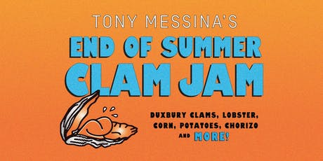 Tony Messina's End of Summer Clam Jam tickets