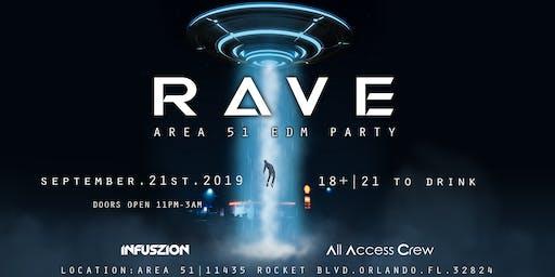 Area 51 EDM RAVE