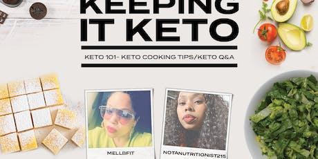 Keeping It Keto - Keto 101 tickets