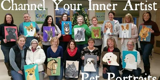 Channel Your Inner Artist - Pet Portraits Fundraiser for PMHS 11/9/19