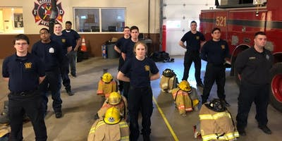 East Side Fire Explorers Open House