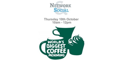 Network & Social The Worlds Biggest Networking & Coffee Morning for MacMillian  tickets