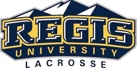Regis University Lacrosse Fall Clinic tickets