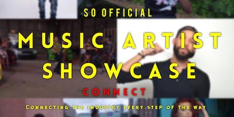 Music Artist Showcase Connect  tickets