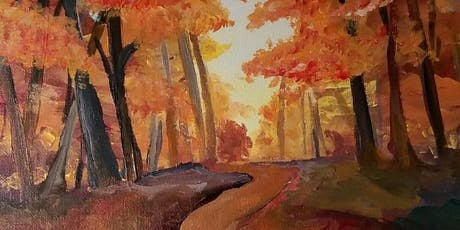 "Pour & Paint ""Fall"" tickets"