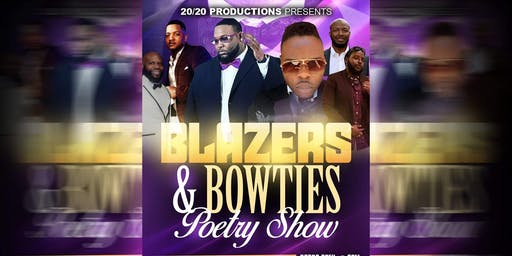 Blazers and Bowties Poetry Show