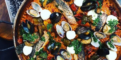 Celebrate Spain at Barvale's Paella Party!