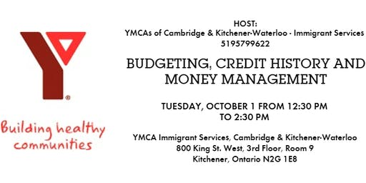 Budgeting, Credit History and Money Management Information Session