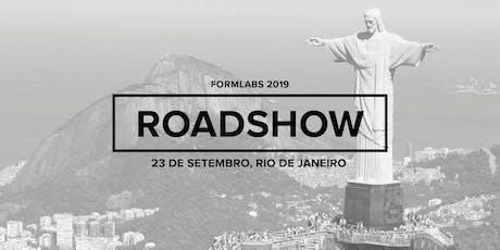 Formlabs Rio de Janeiro Roadshow 2019 ingressos