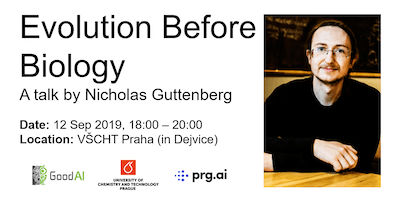 Evolution Before Biology - a talk by Nicholas Guttenberg