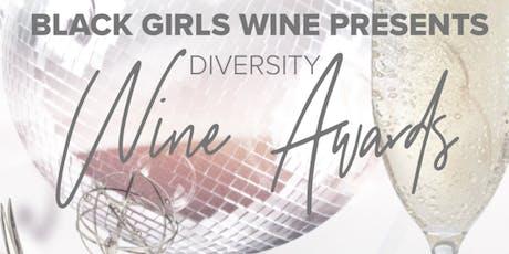 Diversity Wine Award Show & Dinner tickets