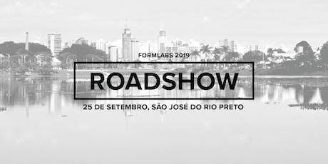 Formlabs São José do Rio Preto Roadshow 2019 ingressos