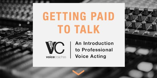 Syracuse- Getting Paid to Talk, An Intro to Professional Voice Overs