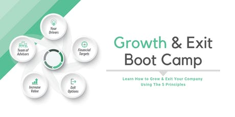 Growth & Exit Boot Camp, OH - Nov tickets
