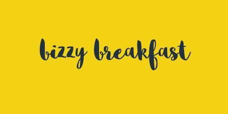 Fall 2019 Bizzy Breakfast  tickets