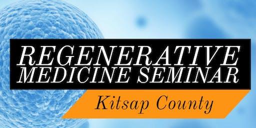 Free Regenerative Medicine & Stem Cell Dinner Seminar - Kitsap County / Port Orchard