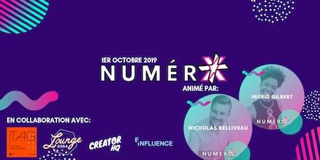 NumérX - Conférence sur le marketing numérique et web tickets